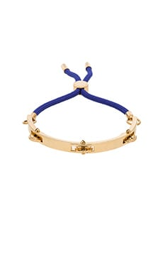 Marc by Marc Jacobs Tambourine Friendship Bracelet in Royal Blue Multi