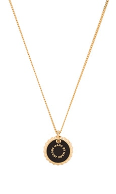 Marc by Marc Jacobs Bottle Top Pendant in Black