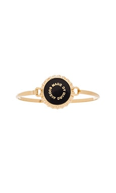 Marc by Marc Jacobs Bottle Top Hinge Bracelet in Black