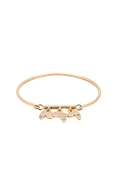 Marc by Marc Jacobs Wildflower Hinge Bracelet in Oro