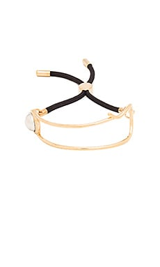 Marc by Marc Jacobs Safety Pin Friendship Bracelet in Oro Multi