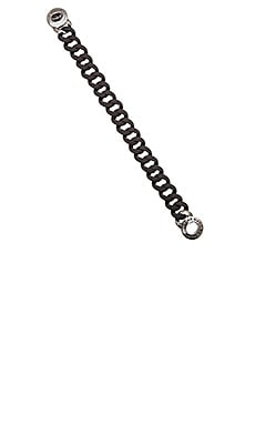 Marc by Marc Jacobs Turnlock Small Katie Bracelet in Black Multi