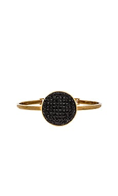 Marc by Marc Jacobs Pave Disc Hinge Cuff in Black