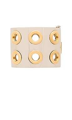 Marc by Marc Jacobs Eyelet Cuff in Oro Multi