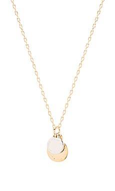 Marc by Marc Jacobs Logo Disc Short Pendant in Oro Multi
