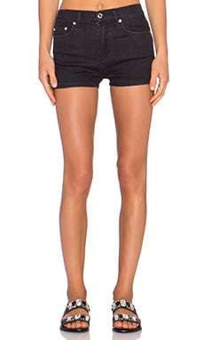 Marc by Marc Jacobs High Waisted Short in Ravan Black
