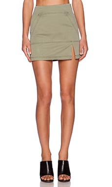 Marc by Marc Jacobs Classic Skirt in Moore Green