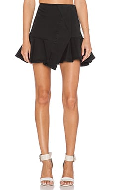 Marc by Marc Jacobs Classic Cotton Skirt in Black