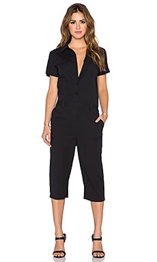 Marc by Marc Jacobs Summer Cotton Jumpsuit in Black