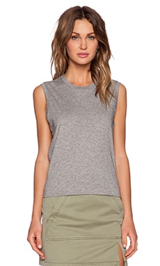 Marc by Marc Jacobs Favorite Tank in Elephant Grey Melange