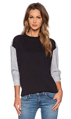 Marc by Marc Jacobs Jordyn Surplus Top in Black Multi