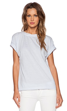 Marc by Marc Jacobs Charlotte Stripe Tee in Blue Eyes Multi