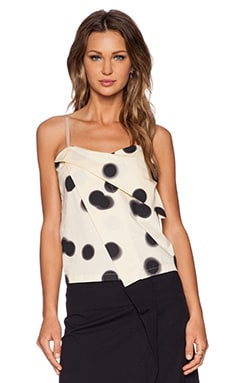 Marc by Marc Jacobs Blurred Dot Tank in Whey Multi