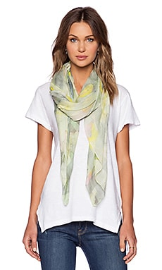 Marc by Marc Jacobs Charlotte Paint Scarf in Washed Mint Multi