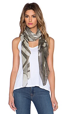 Marc by Marc Jacobs Drippy Plaid Scarf in Safari Multi