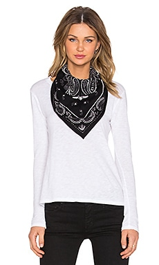Marc by Marc Jacobs William Bandana in Black Multi