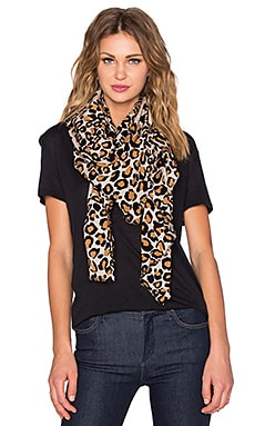 Marc by Marc Jacobs Painted Leopard Scarf in Sandbox Multi