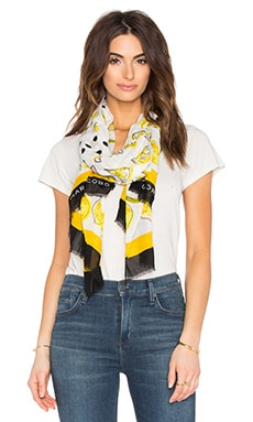 Marc by Marc Jacobs Lemon Slices Scarf in Off White Multi