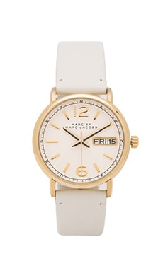 Marc by Marc Jacobs Fergus Watch in White