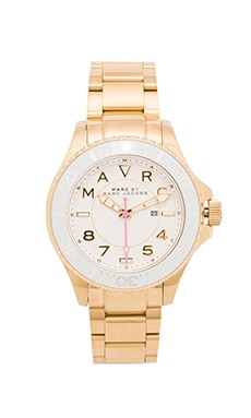 Marc by Marc Jacobs Dizz Watch in Gold