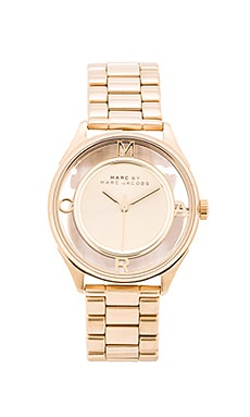 Marc by Marc Jacobs Tether Watch in Gold Sunray