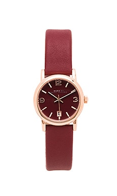 Marc by Marc Jacobs Farrow Watch in Red Canyon
