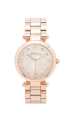 Marc by Marc Jacobs Dotty Watch in Rose & Silver