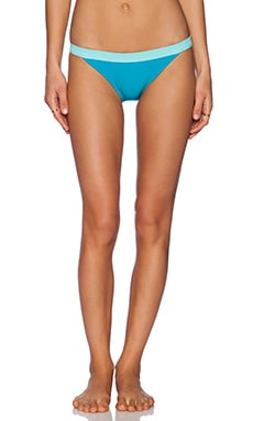 Marc by Marc Jacobs Color Block Bikini Bottom in Painted Teal Multi