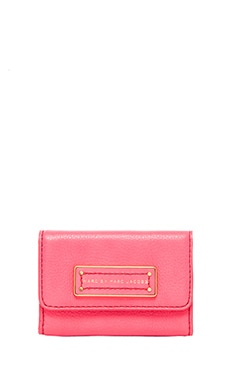 Marc by Marc Jacobs Too Hot to Handle Card Case in Bright Coral