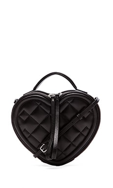 Heart to Heart Quilted Crossbody Bag