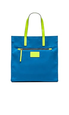 Marc by Marc Jacobs Marc It JJ Canvas Tote in Electric Blue Lemonade