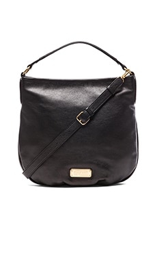 Marc by Marc Jacobs New Q Hillier Hobo in Black