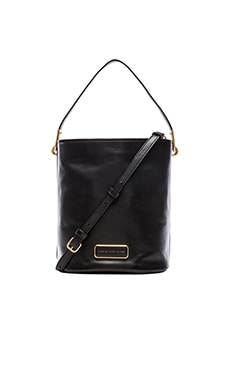 Marc by Marc Jacobs Ligero Bucket Bag in Black
