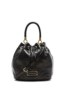 Marc by Marc Jacobs Too Hot to Handle Drawstring Bag in Black