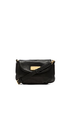 Marc by Marc Jacobs New Q Flap Percy Bag in Black