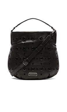 Marc by Marc Jacobs New Q Grommet Hillier Hobo Bag in Black