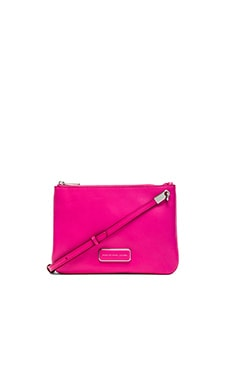 Marc by Marc Jacobs Ligero Double Percy Bag in Fuchsia Purple