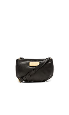 Marc by Marc Jacobs New Q Percy Crossbody Bag in Black