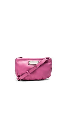 Marc by Marc Jacobs New Q Percy Crossbody Bag in Pink Bubblegum