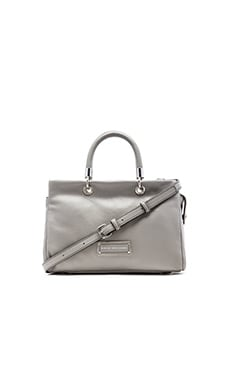 Marc by Marc Jacobs Too Hot to Handle Satchel in Storm Cloud
