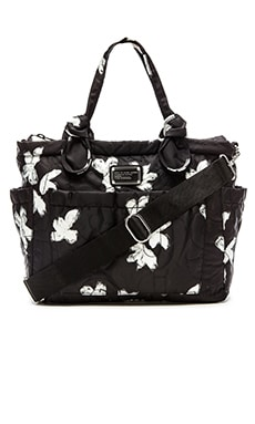 Marc by Marc Jacobs Pretty Nylon Elizababy Tote in Black Multi