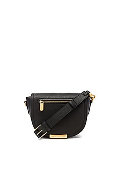 Marc by Marc Jacobs Luna Saffiano X-Body Bag in Black