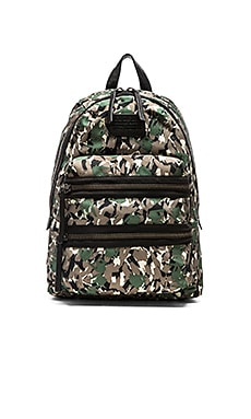 Marc by Marc Jacobs Domo Arigato Packrat in Dark Moss Multi