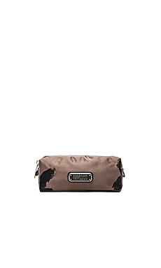 Marc by Marc Jacobs Painted Flower Narrow Cosmetic Bag in Faded Aluminum Multi