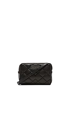 Marc by Marc Jacobs Sophisticato Crosby Quilt Gemini Crossbody in Black