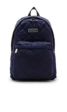 Marc by Marc Jacobs Crosby Quilt Nylon Backpack in India Ink