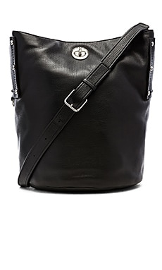 Marc by Marc Jacobs C-Lock Large Bucket Bag in Black