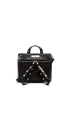 Marc by Marc Jacobs Riveted Canteen Bag in Black