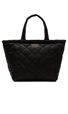 Marc by Marc Jacobs Crosby Quilt Nylon Weekender Bag in Black