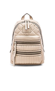 Marc by Marc Jacobs Domo Biker Quilted Backpack in Papyrus